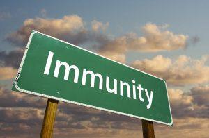 Immunity Road Sign