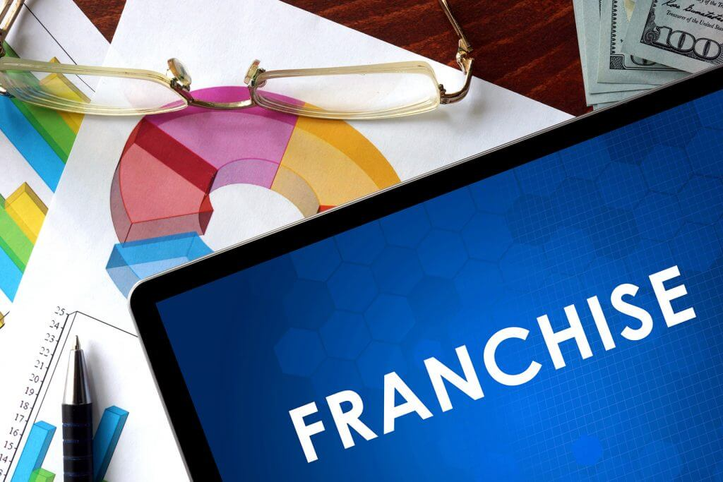 Franchise paperwork and graphs