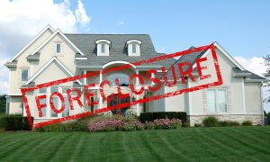 House up for foreclosure